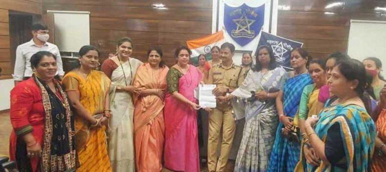 पिंपरी चिंचवड शहरात महिलांसाठी स्वतंत्र पोलिस ठाणे करा ; राष्ट्रवादी कॉंग्रेसच्या वैशाली काळभोर यांची मागणी