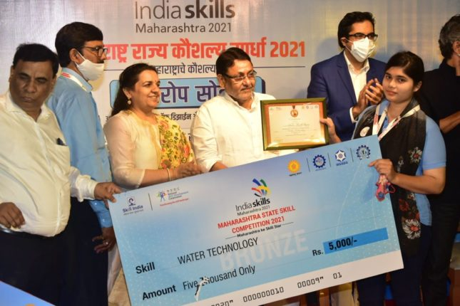 Maharashtra State Skills Competition felicitates 132 youths for their outstanding performance
