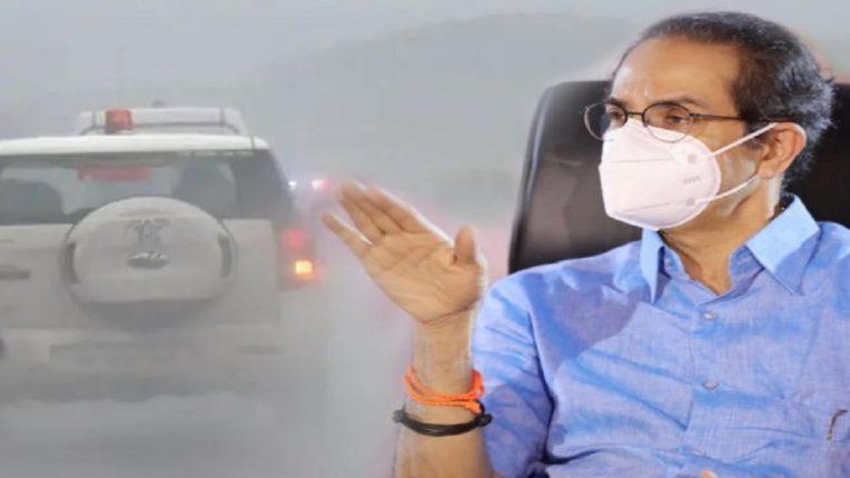 मुख्यमंत्री उद्धव ठाकरेंच्या ताफ्यात अज्ञात कार शिरली अन्…