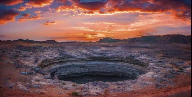 नरकाच्या खड्ड्यात उतरले वैज्ञानिक ; येमेन येथील रहस्यमयी खड्ड्याचे उलगडले रहस्य