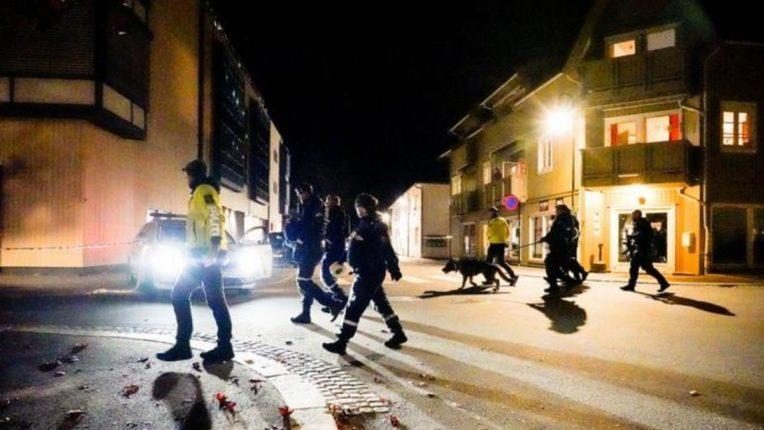 धनुष्यबाणाने पाच जणांची भर रस्त्यात हत्या; नार्वेच्या रस्त्यावर थरार