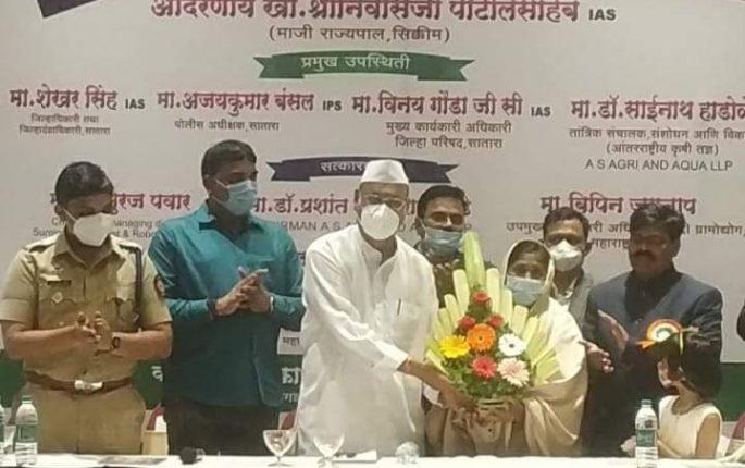 आरोग्यिता समूहाने कृषी आरोग्य प्रबोधनाचे जबाबदारी घ्यावी : श्रीनिवास पाटील