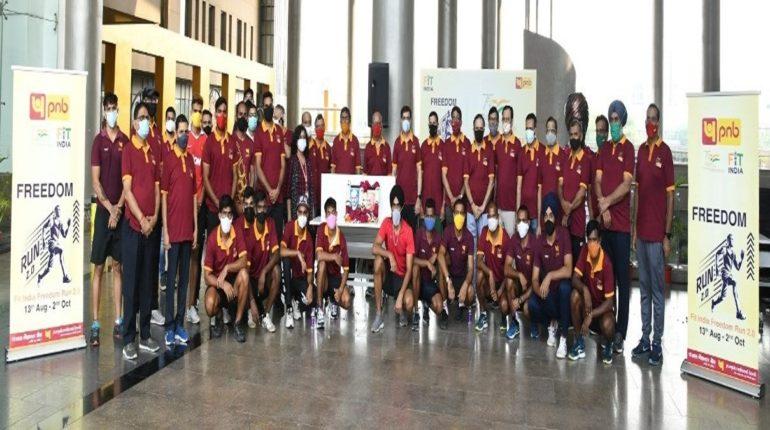 गांधी जयंतीनिमित्त पंजाब नॅशनल बँकेने आयोजित केली फिट इंडिया फ्रीडम रन 2.0