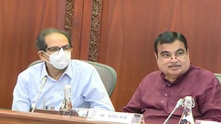 Mahavikas Aghadi leaders had a long meeting with Union Road Development Minister Nitin Gadkari; Discuss the political situation