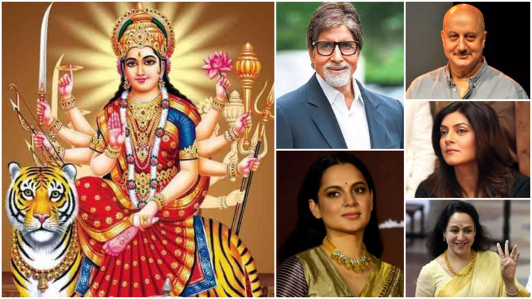 navratri wishes from celebrities