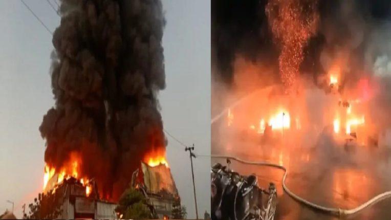 तायवानमध्ये १३ मजली इमारतीला भीषण आग, ४६ जणांचा मृत्यू
