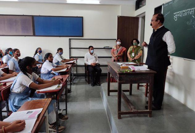 thane collector narvekar in class